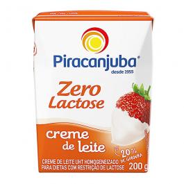 Creme de Leite zero lactose Piracanjuba 200g REF:  7153