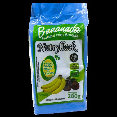 Bananada Natural Com Ameixa 280g REF:  3668