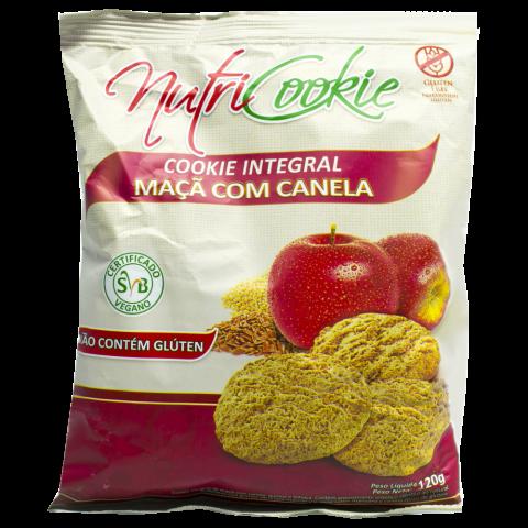 Cookie  Integral Maçã e Canela NutriCookie 120g REF:  7555