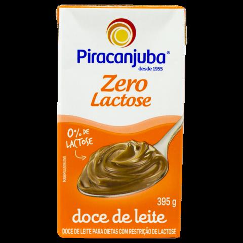 Doce de Leite zero lactose Piracanjuba 395g REF:  7556
