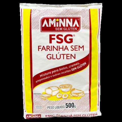 Farinha sem glúten FSG Aminna 500g REF:  6264