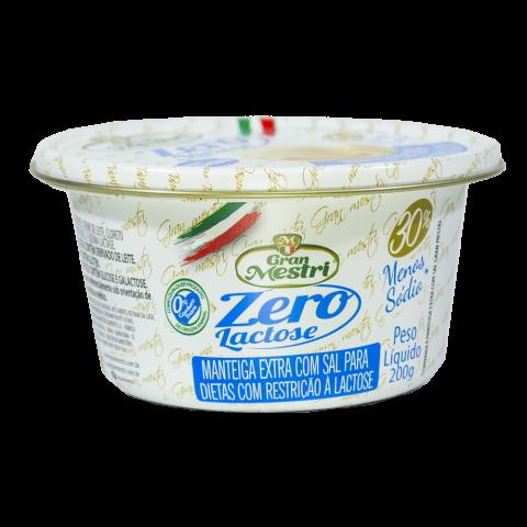 Manteiga Com Sal sem Lactose Gran Mestri REF:  9926