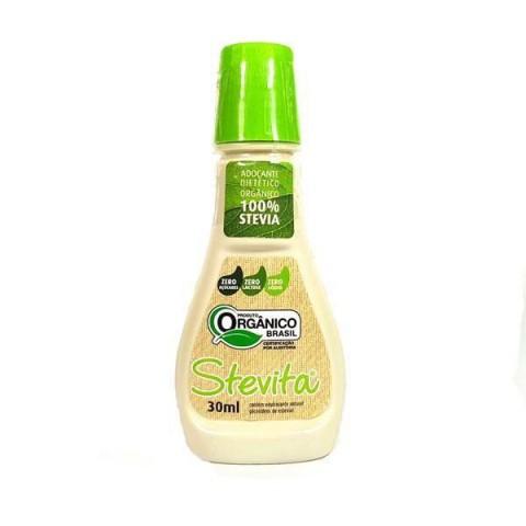 Adoçante dietético 100% Stevia Orgânico 30ml REF:  11202