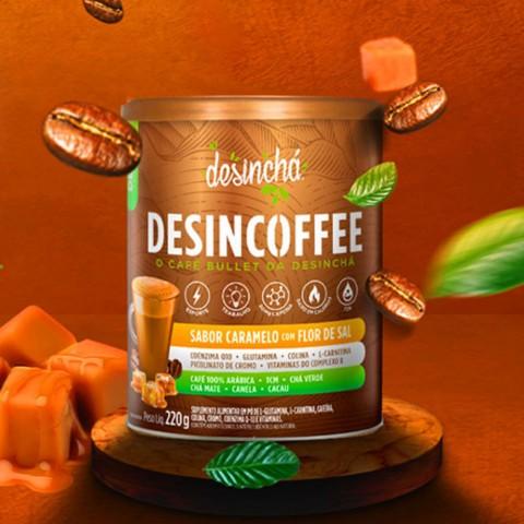 Desincoffe Caramelo com Flor de Sal  220g REF: 02275