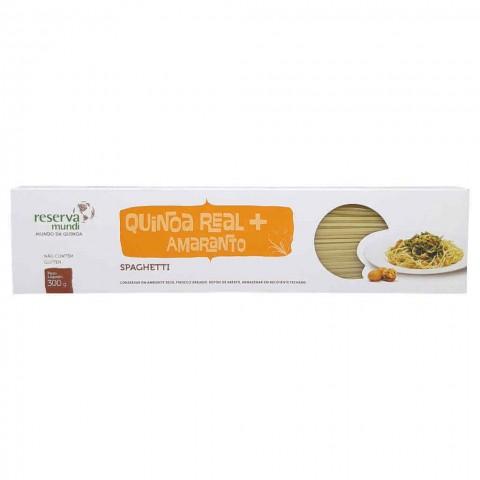 Spaghetti de Quinoa Real e Amaranto Reserva Mundi 300g REF: 5692