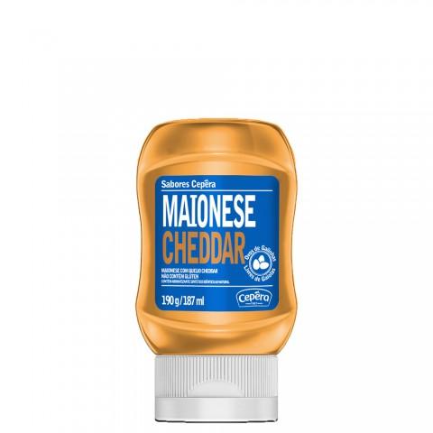 Maionese Cheddar Cepera 190g REF: 02122