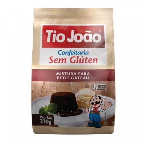 Massa para Petit Gâteau s/ Glúten e s/ Lactose 270g TIO JOAO REF: 7485
