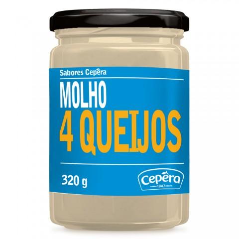 Molho 4 Queijo CEPERA 320g REF: 02125