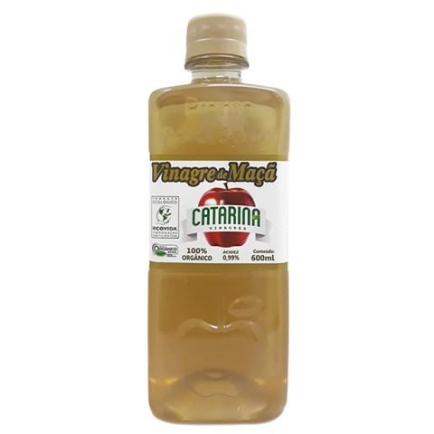 Vinagre de maçã 100% orgânico Catarina 600ml REF:  11150